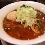 柳麺 ちゃぶ屋 本店 - 味噌らぁ麺 ¥750 + 味付半熟煮玉子 ¥150