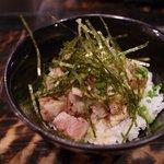 柳麺 ちゃぶ屋 - チャーシューご飯 ¥350