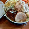 Ramenkaneko - 料理写真:ラーメン大にトリプル・豚2枚1150円