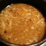 麺処 蓮海 - スープ割後