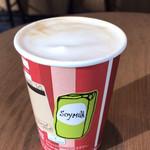 スターバックスコーヒー - スターバックスラテ(豆乳)
