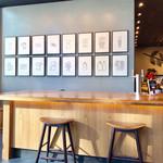 スターバックスコーヒー - シンプルな店内