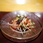 ロマンティコ - 料理写真:寒鰤のマリネ