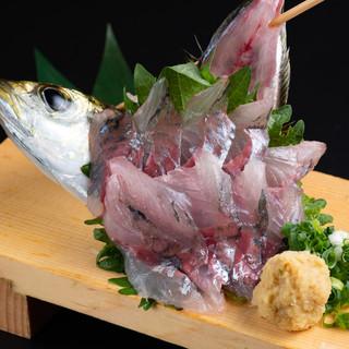 産地直送!自慢のいけすから食べ頃の旬魚をご提供