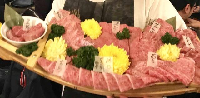 鳥取和牛オレイン55一頭買い専門店 炭火焼肉 さんこう苑の料理の写真