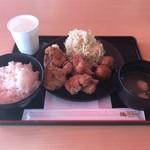 鶏三和 - 料理写真:鶏唐揚御膳