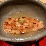 98681364 - 餅米紹興酒蒸し、対馬穴子