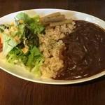 サンリンシャ - 玄米いつものカレープレート