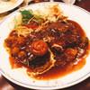 ジジ&ババ - 料理写真:ハンバーグ  チーズ風味 1080円