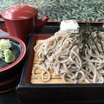 お食事処名月庵 - 料理写真:ざるそば@760円
