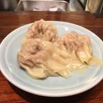 Chuukasobanishino - ワンタン三個 別皿