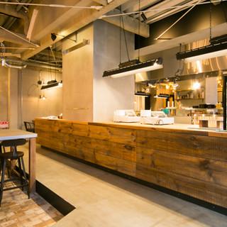 広いオープンキッチンが特徴◎NYにあるようなオシャレカフェ