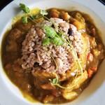 味楽屡ゆきや - Moslem friendly curry(halal chicken)