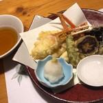 別邸 きときと - 本ズワイガニの天ぷら