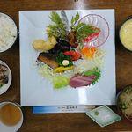 最御崎寺遍路センター - 料理写真:夕食@最御崎寺遍路センター(2018年4月某日)