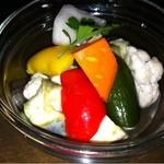 VOCO - 彩り野菜のピクルス500円