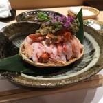 すし貫 - セイコ蟹