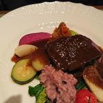 ビストロスクワール - 牛ホホ肉のワイン煮込み