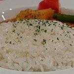アロヒディン - ALOHIDDIN 八丁堀店 チキンの煮込みのバターライス