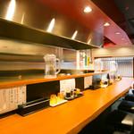六九麺 - カウンター