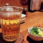 京Apollo 六角 - 梅酒 お湯割