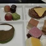 ル・タン - 右上ハンバーグは美味しい!