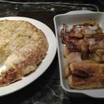ル・タン - キッシュとフレンチトースト
