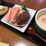 きっちん・うさぎ - 料理写真:三種盛り
