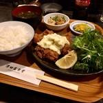 ツダヤショクドウ - カキフライ定食 880円