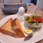 銀座コージーコーナー - モーニングトーストセット