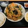 旺華楼 - 料理写真:木耳、玉子と豚肉炒め定食¥750-