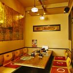 三厨 - 4~8名 半個室 宴会席(掘りごたつ)