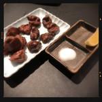 全力鶏 - 砂肝コロコロ焼き