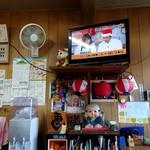 栗林食堂 - お店の中の様子