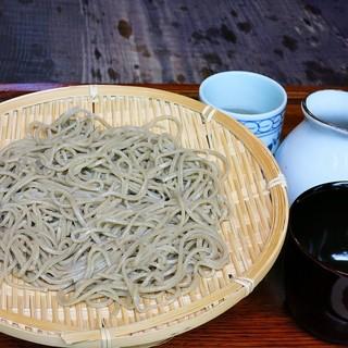 常陸屋 - 料理写真:ざるそば1000円