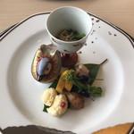 中村孝明貴賓館 - 料理写真:八        寸