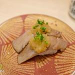 廻転寿司 まぐろ問屋 めぐみ水産 - 本マグロ炙り