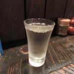 よしむら - 冷酒90㏄のグラス(開春)