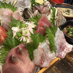 まるう商店 - 三浦地魚どっさり盛3