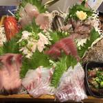 まるう商店 - 三浦地魚どっさり盛2
