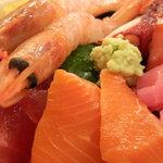 新宿 御さしみ家 - 海鮮丼 アップ
