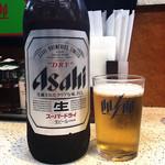 餃子の王将 - 瓶ビール大480円