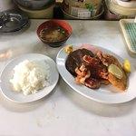 洋定食の店 くるみ - Bランチ  ¥800