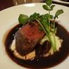 レストラン ポルコロッソ - 料理写真:エゾ鹿ランプ肉のソテー