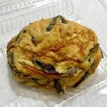 肥後椿のお弁当 - 料理写真:手造りがんも 83円(90円)/1個