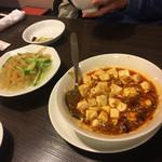 98716102 - 麻婆豆腐はかなりイケてます❣️