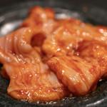 焼肉  炭聖 - 2018.12 濃厚ホルモン(900円)牛大腸