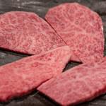 焼肉  炭聖 - 2018.12 塩上カルビ(四枚 1,500円)