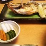 寿司処 一光 - メバルの塩焼き 定食で!