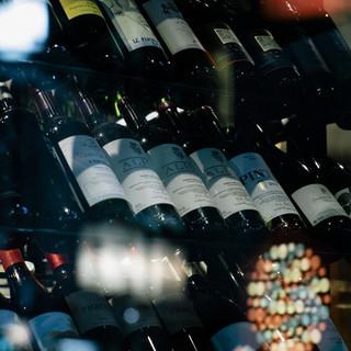 ワインのデパート(百貨店)あなたのお好みの1本が見つかるハズ